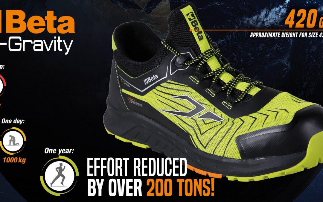 Nuove scarpe della beta 0-GRAVITY